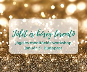 Jólét és bőség teremtő kundalini jóga workshop Budapest