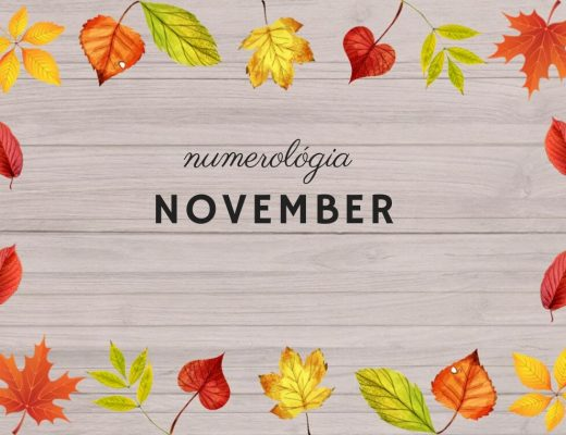 numerológia november