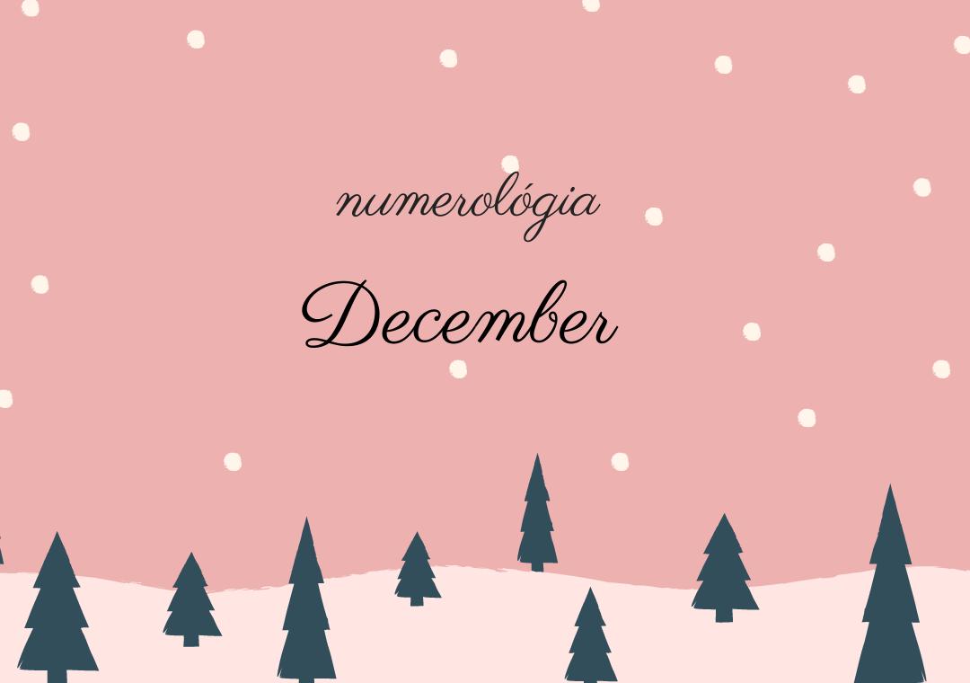 Numerológia december